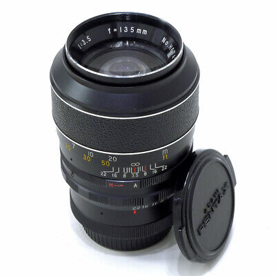 ***HANIMEX TELE-AUTO 135mm F/3.5 FIXED MID-TELE LENS | M42 SCREW MOUNT*** • 25£