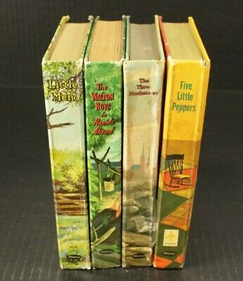 $14.50 • Buy (Lot Of 4) Vintage Whitman Classic Childrens Books 1950s & 1960s