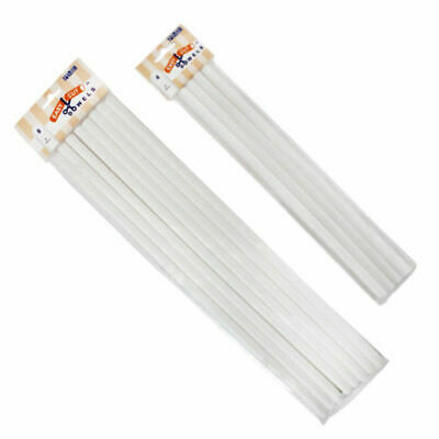 £6.99 • Buy PME Easy Cut Cake Dowels Hollow Pillars Rods 12 Or 16 Inch - FREE DELIVERY!