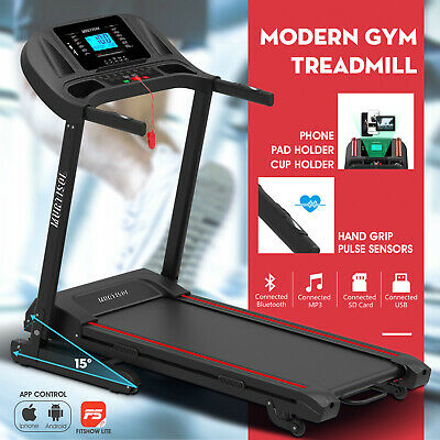 AU1099.90 • Buy Electric Treadmill Home Gym Run Exercise Machine Fitness Equipment Auto Incline