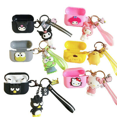 AU11.55 • Buy 3D Cute Melody Kitty Pendant Earphone Case Cover For Apple Airpods Pro Charging