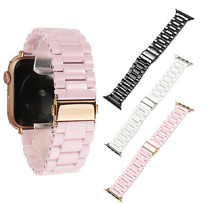 $ CDN25.69 • Buy Ceramic Strap For Apple Watch Series 5 4 3 2 Band IWatch 44/40/42/38mm Bracelet