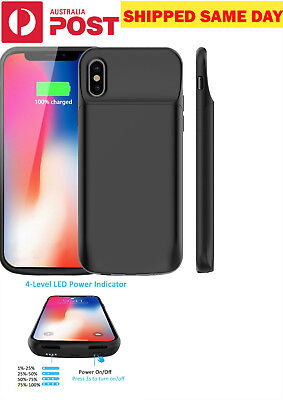 AU29.95 • Buy For IPhone X XR MAX 11 Pro Max 3600-4600 MAh Rechargeable Charging Battery Case