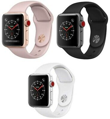 $ CDN282.63 • Buy Apple Watch Series 3 38mm 42mm GPS + Cellular Pink Gold Space Gray Silver MINT