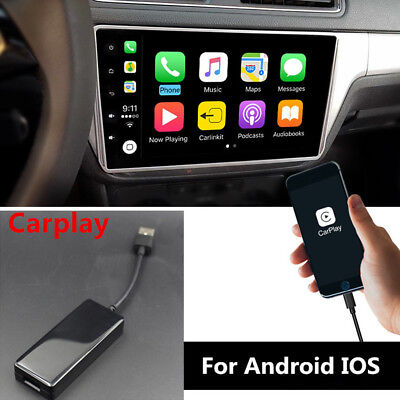 $55.29 • Buy USB Dongle Carplay Car Navigation MP5 Head Unit Fit For Apple IOS Android 5V DVD