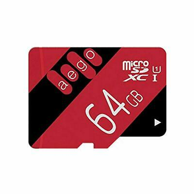AEGO 64GB Micro SD Card UHS-1 MicroSD Memory Card Class 10 For Wyze Cam/Tablets/ • 15.13$