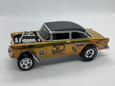 Hot Wheels 18th Nationals 2018 Convention '55 Chevy Bel Air Gasser LOOSE RLC • 199.99$