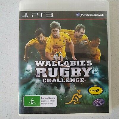 AU6.95 • Buy PS3 Wallabies Rugby Challenge Game Free Postage 🎮🕹