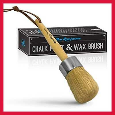 Professional Chalk Painting & Wax Brush Natural Bristles Large • 17.93$