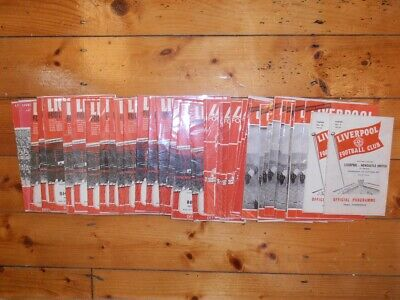 1960's LIVERPOOL FC HOME PROGRAMMES - Your Choice - FREE Postage • 2.50£