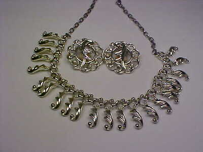 Vintage Sarah Coventry  Fancy Free  (1960) Necklace & Earrings Set • 3.99$