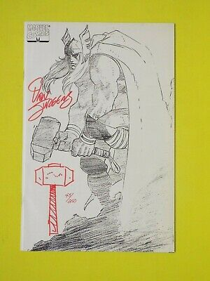 Marvel Comics Thor Issue 1 Signed And Sketched • 75£