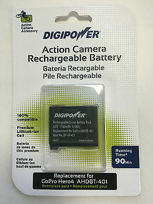 AU15 • Buy DigiPower Rechargeable Battery For GoPro HERO4