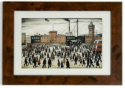 Going To Work Framed Print By L.S. Lowry • 19.99£
