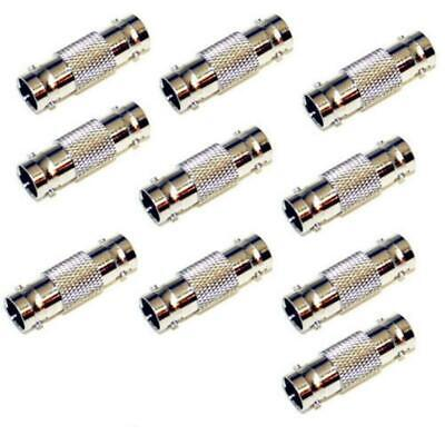 $ CDN1.70 • Buy BNC Female Coax Cable Coupler Adapter Connector For CCTV RG59 RG60 10 Pack Lot