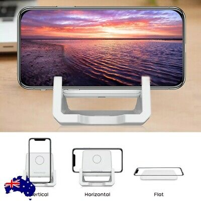 AU14.91 • Buy Qi Wireless Charger 10W Fast Charging Stand Dock For IPhone 11 Samsung Galaxy AU
