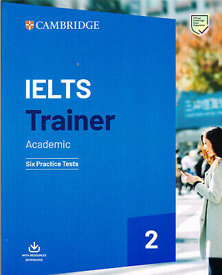 Cambridge English IELTS TRAINER 2 Academic SIX PRACTICE TESTS With Download @NEW • 28.44£