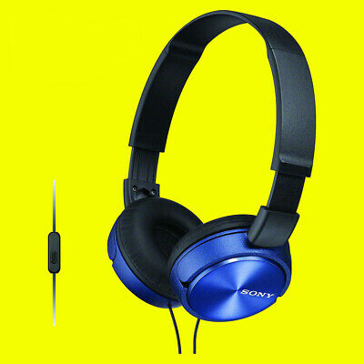Sony MDRZX310AP/BLU  Headphones Foldable Stereo Headset Earphones For Music Blue • 17.95£