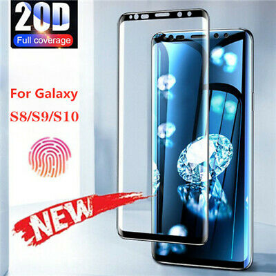 $ CDN4.29 • Buy Full Glue Adhesive Tempered Glass For Samsung Galaxy S9/S8/Plus/Note 9/Note 8
