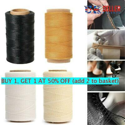 £3.33 • Buy 30m/roll Sewing Waxed Thread Nylon Hand Stitching Cord For Crafts Leather Shoes