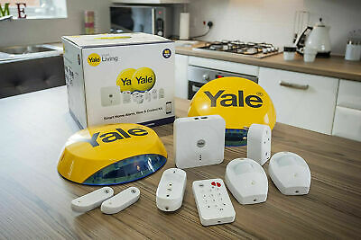 Yale SR-340 Smart Living Home Alarm, Smartphone Control, View Camera + FREE DEL • 599.99£
