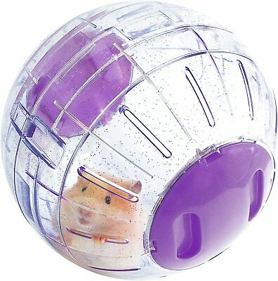 £7.95 • Buy Hamster Ball Boredom Breaker Small Animal Activity Toy Glitter - FREE DELIVERY!