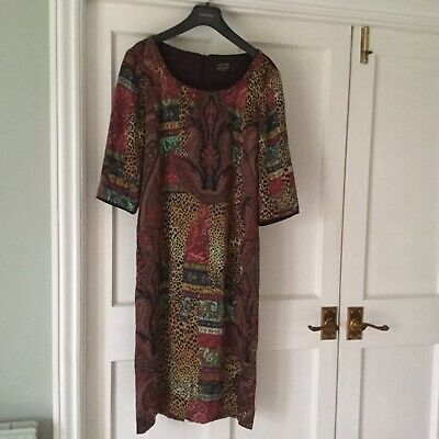 Caroline Charles Silk Shift Dress Size UK 10 • 40£