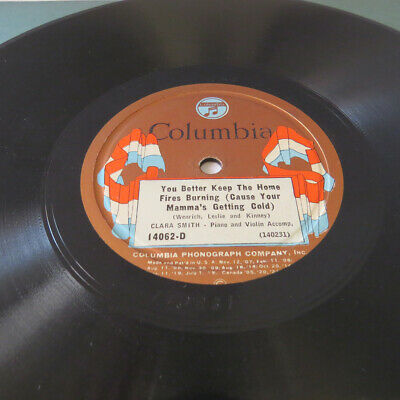 VERY RARE RACE 78 NEW ORLEANS JAZZ Clara Smith Louis Armstrong Columbia 14062 E • 79.99$