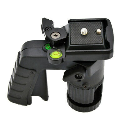 £27.59 • Buy Compact   Grip Ball Head Mount 1/4'' Quick Release Plate For Camera Tripod