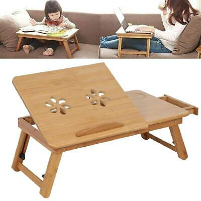 Folding Laptop Lap Tray Portable Desk Notebook Computer Breakfast Bed Sofa Table • 15.99£