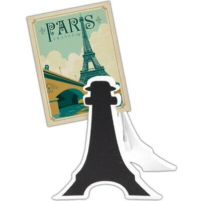 £8.71 • Buy 8 X Chalkboard Eiffel Tower Name Clips WEDDING TABLE NUMBERS Personalised Stand