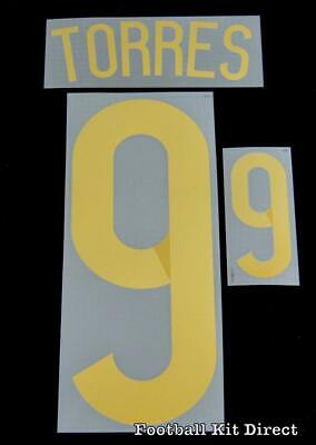 Spain Torres 9 2014 World Cup Football Shirt Name Set Home Sporting ID • 20$