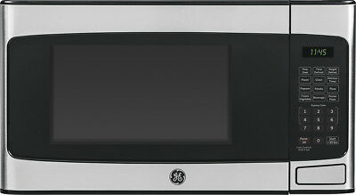 View Details Open-Box Excellent: GE - 1.1 Cu. Ft. Mid-Size Microwave - Stainless Steel • $