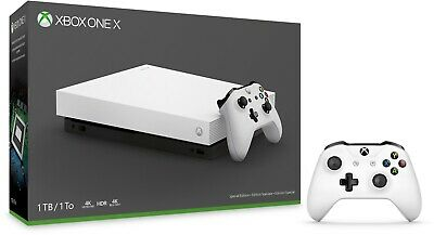 Xbox One X 1tb Robot White Special Edition • 250$