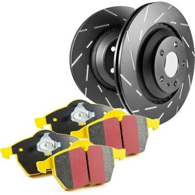 S9KF1279 EBC Brake Disc And Pad Kits 2-Wheel Set Front New For Ford Focus 02-04 • 372.30$