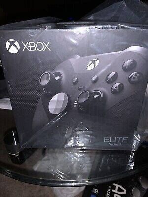 NEW Xbox One Elite Series 2 Wireless Controller Black - Ships Before Christmas • 189.99$