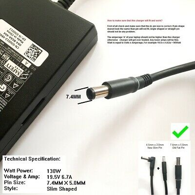 $ CDN55.18 • Buy 130W Charger For Dell Alienware Alpha, Alienware Alpha ASM-R2     /SS