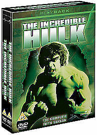 The Incredible Hulk - Series 5 - Complete (DVD, 2008, 2-Disc Set) • 10.35£