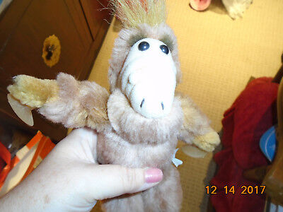 VTG 1980s Alf Alien Life Form Plush Doll Animal Small W Suction Cups • 9.99$