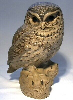 Poole Pottery Stoneware Bird Owl Signed Linley Adams • 39.99£