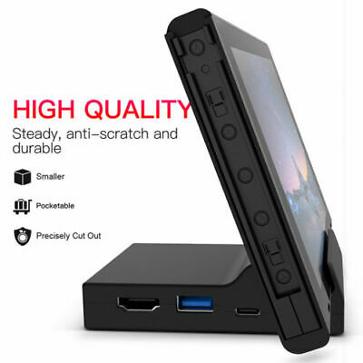 $24.98 • Buy  Nintendo Switch Dock Station Case Replacement Portable Dock Stand Base