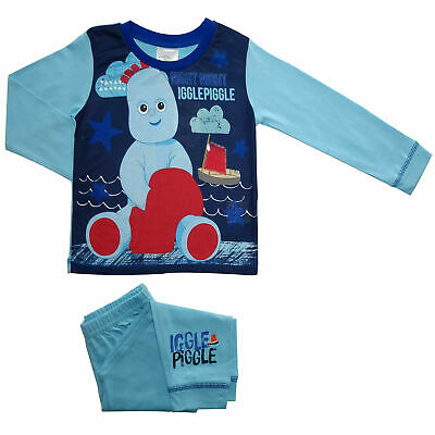 Boys Toddler Iggle Piggle Pyjamas - Cosy PJs - Sizes 12 Months To 4 Years • 6.49£