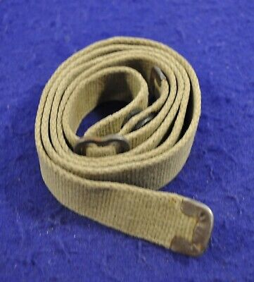 $395 • Buy Original & Rare Early Wwii 1942-43 Us M1 Carbine Khaki  Colored C-tip Sling