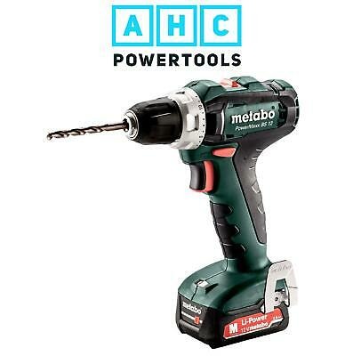 Metabo PowerMaxx BS 12 Drill/Driver, 1 X 12V 2.0Ah In Carton - 601036000 • 71.95£
