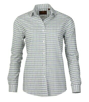 Laksen Ladies Brushed Cotton Checked Shirt • 39£