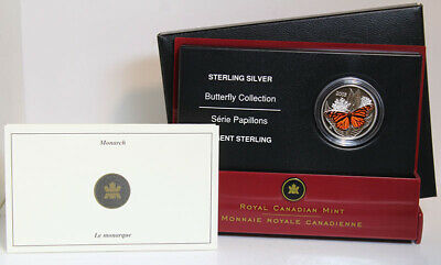 $14.07 • Buy 2005 Canada Sterling Silver Monarch 50 Cent Coin From The Butterfly Collection