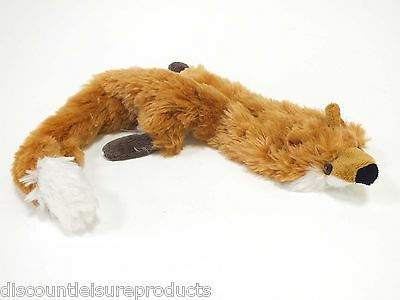 Good Boy Dog/Puppy Toy - Raggy Fox Unfilled Stuffing Free Soft Comfort • 3.95£