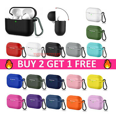 $ CDN6.13 • Buy  For Apple Airpods Pro 3 Wireless Charging Silicone Case Cover Protective Skin