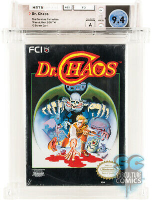 £2831.95 • Buy Nes - Dr. Chaos - Factory Sealed - Carolina Collection - Wata 9.4 A - Nes 1988