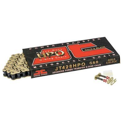 AU28.77 • Buy JT Gold O Ring Chain 428 Pitch 104 Links Fits Honda CT110 Trail 110 - USA 1980